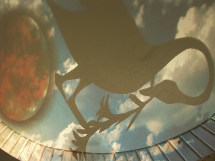 Drei Musen im Mond - Figurenspiel Steffi Lampe
