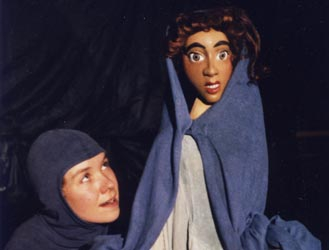 Aucassin und Nicolette - Figurenspiel Steffi Lampe