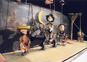 Django - die Rückkehr - Figurenspiel Steffi Lampe