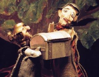 Die Geschichte vom armen Ritter und seinem getreuen Roß - Figurenspiel Steffi Lampe