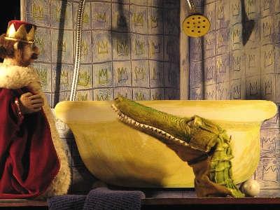 Figurenspiel Steffi Lampe - Der kleine Teufel und die Pfannkuchen