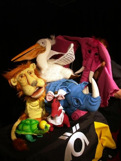 Der Gebutstag der kleinen Schildkröte - Figurenspiel Steffi Lampe