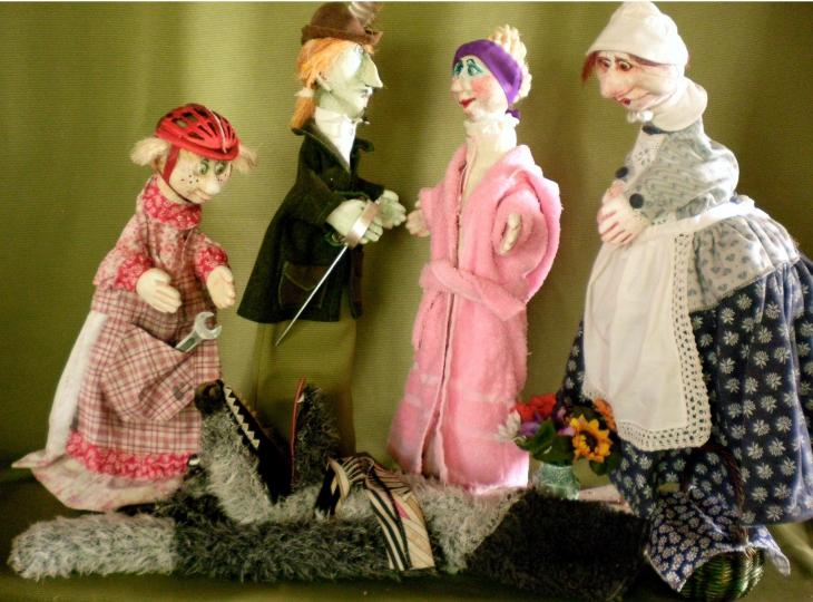 Rothelmchen und der Wolf - Figurenspiel Steffi Lampe